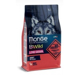 Monge Natural Superpremium BWild Low Grain Formula Kg 2,5 Adult Cervo
