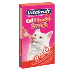 Vitakraft Cat Liquid Snack Manzo & Inulina