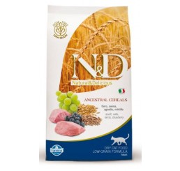 Farmina N&D Low Grain Gatto Adult Agnello e Mirtillo gr 300