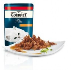 Gourmet Perle filettini in salsa con Manzo gr. 85