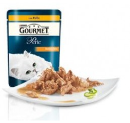 Gourmet Perle filettini in salsa con Pollo gr. 85