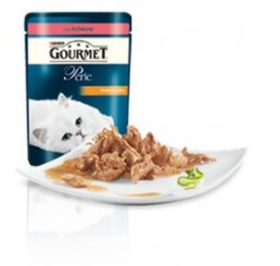 Gourmet Perle filettini in salsa con Salmone gr. 85