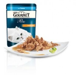Gourmet Perle filettini in salsa con Tonno gr. 85