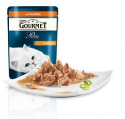 Gourmet Perle filettini in salsa con Tacchino gr. 85