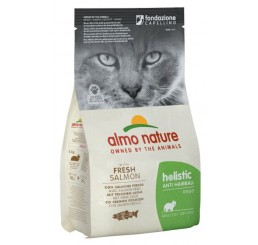 Almo Nature Holistic Anti Hairball Gatto gr 400 con Salmone Fresco