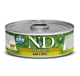 Farmina N&D Ocean Gatto gr 80 Adult Prime Cinghiale Boar and Apple wet food
