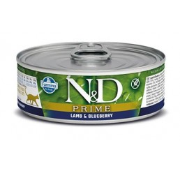 Farmina N&D Ocean Gatto gr 80 Adult Prime Agnello Lamb and Blueberry wet food
