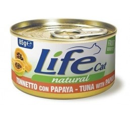 Life Cat Natural gr 85 Tonnetto con Papaya