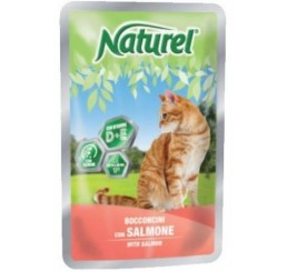 Naturel Gatto Busta 100 gr Salmone