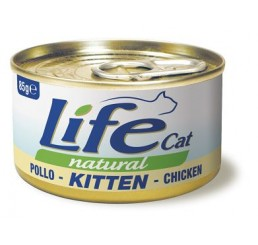 Life Cat Natural Kitten / Gattini al pollo 85 gr