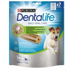 Purina Snack per Cane Dentalife Daily Orale Care Small in confezione da 115 gr, numero Sticks 7