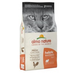 Almo Nature Holistic Gatto Adulto Kg 12 Con Pollo