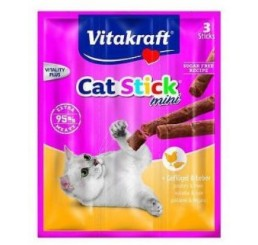 Vitakraft Gatto Stick Mini Al Pollo e Fegato  pz 3