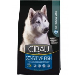Farmina Cibau Sensitive Fish Medio - Maxi Pesce Kg 12 (al pesce)
