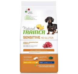 Trainer Natural Sensitive No Gluten Adult Small Toy / Mini Kg 7 Agnello