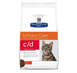 Hill's Feline C/D Urinary Stress al pollo Kg 1,5