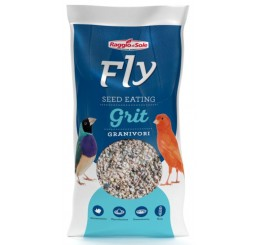 Fly Supporter Seed Eating Grit Granivori Kg 2 - Alimento minerale per uccelli da gabbia