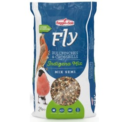 Fly Bullfinches & Crossbills Indigena Mix semi Kg 2 - Mix di semi per fringillidi