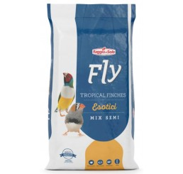 Fly Hobby Tropical Finches Esotici Mix di Semi Kg 1 - Alimento composto per esotici