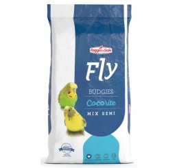 Fly Hobby Budgies Cocorite Mix di Semi Kg 5 - Alimento composto per cocorite