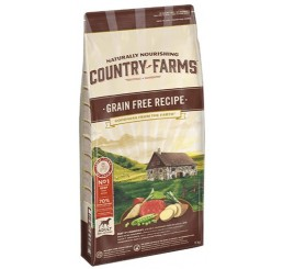 Naturally Nourishing Country Farms Cane Adult Kg 11 Grain Free Ricco in Manzo