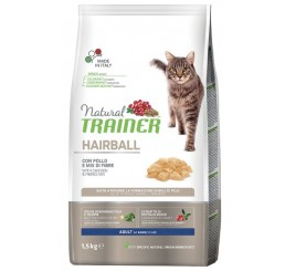 Trainer Natural Gatto Hairball Pollo Gr 300