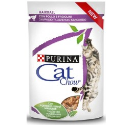 Purina Cat Chow Busta Gatto Hairball Control Pollo 85 gr