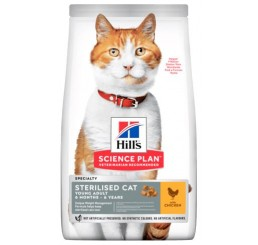 Hill's Science Plan Feline Young Adult Sterilized /Sterilizzato Kg 1,5 Pollo