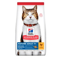 Hill's Science Plan Feline Mature Adult al Pollo kg 1,5