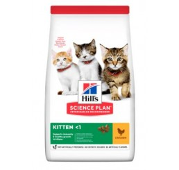 Hill's Science Plan Kitten gr 300 Pollo