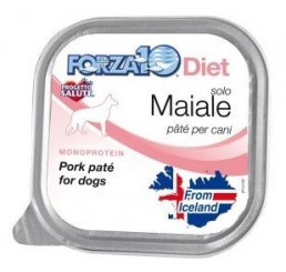 Forza10 Solo Diet pate' Maiale Gr 100