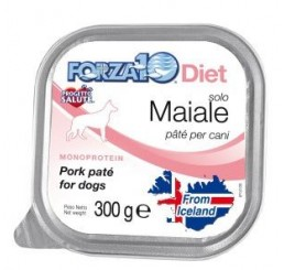 Forza10 Solo Diet pate' Maiale Gr 300