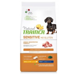 Trainer Natural Sensitive No Gluten Adult Small & Toy / Mini Kg 2 Maiale