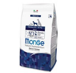 MONGE CANE ADULT MEDIUM KG 3