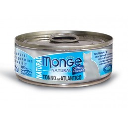 Monge Natural Tonno dell'Atlantico gr 80