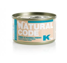 Natural Code Kitten Tonno  85 gr