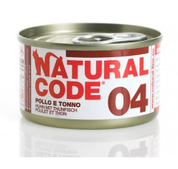 Natural Code 04 Tonno e Pollo 85 gr