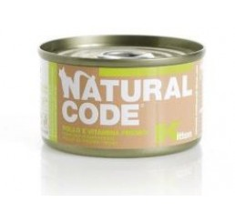 Natural Code Kitten Pollo  85 gr