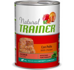Trainer Natural Cane Medio Maxi Maturity con Pollo 400 gr