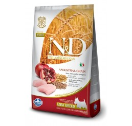 Farmina N&D Low Grain Adult Mini Pollo & Melograno kg 2.5