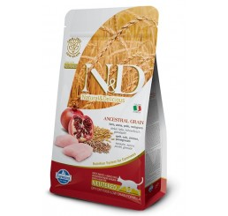 Farmina N&D Low Grain Gatto Neutered Pollo Kg. 5