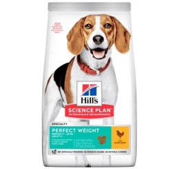 Hill's Science Plan Canine Perfect Weight Medium Kg 2 Pollo