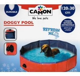 Camon Fresh Piscina media per Cani Ø 120 cm H 30 cm