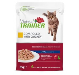 Trainer Natural Gatto Busta gr. 85 Adult Pollo