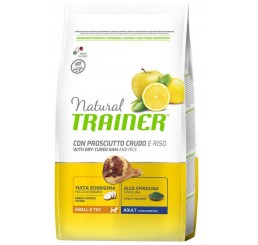 Trainer Natural Cane Small & Toy Prosciutto/Riso KG 2