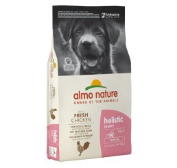 Almo Nature Cane Holistic Puppy Medium Pollo Riso Kg 12