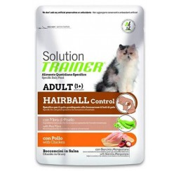 Trainer Natural Gatto Busta gr. 85 Hairball Pollo