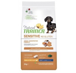 Trainer Natural Sensitive No Gluten Adult Small & Toy / Mini Salmone Kg 7