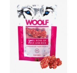 Woolf Snack Cani Monoproteico Osso Piccolo Anatra e Riso 100 gr (Small bone of duck and rice)