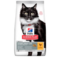Hill's Science Plan Feline Mature Adult 7+ Sterilized / Sterilizzato Kg 1,5 Pollo